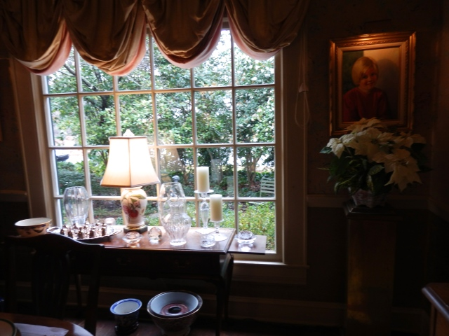 Dining room window.