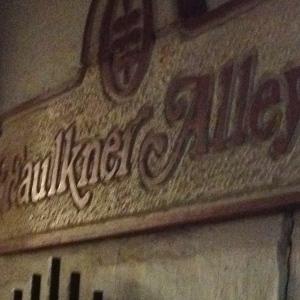 Faulkner Alley sign